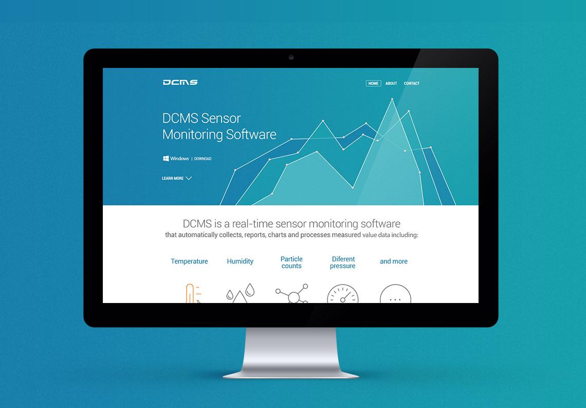 DCMS Sensor  Monitoring Software
