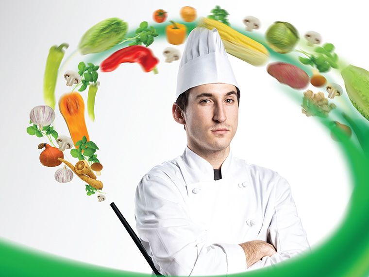 Knorr. Student's chef competition