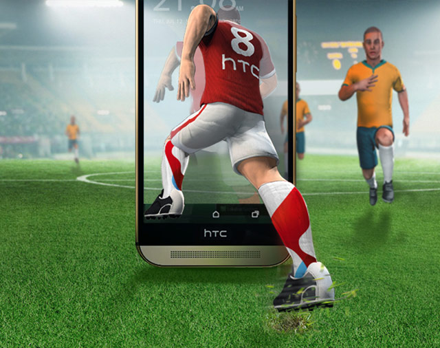 Swisscom & HTC in football fever